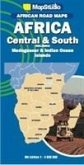 African road maps Africa Central & South