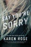 Say You're Sorry (eBook, ePUB)
