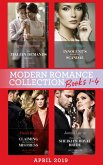 Modern Romance April 2019 Books 1-4: The Italian Demands His Heirs (Billionaires at the Altar) / Innocent's Nine-Month Scandal / Chosen as the Sheikh's Royal Bride / Claiming My Untouched Mistress (eBook, ePUB)