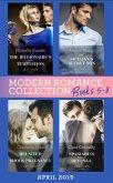Modern Romance April 2019 Books 5-8: Spaniard's Baby of Revenge / Reunited by a Shock Pregnancy / The Sicilian's Secret Son / The Billionaire's Virgin Temptation (eBook, ePUB)