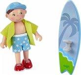 HABA 304743 - Little Friends, Colin, Spielfigur, Puppe, Biegepuppe