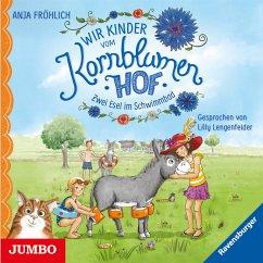 Zwei Esel im Schwimmbad / Wir Kinder vom Kornblumenhof Bd.2 (MP3-Download) - Fröhlich, Anja