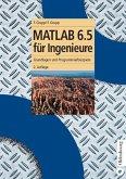 MATLAB 6.5 für Ingenieure (eBook, PDF)
