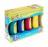 Crayola Mini Kids Auswaschbare Fingerfarben, 4 Tuben