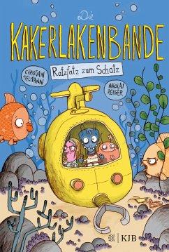 Ratzfatz zum Schatz / Die Kakerlakenbande Bd.3 - Tielmann, Christian