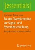 Fourier-Transformation zur Signal- und Systembeschreibung (eBook, PDF)