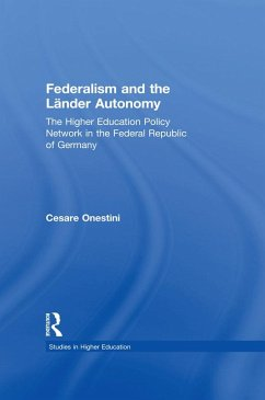 Federalism and the Lander Autonomy (eBook, PDF)
