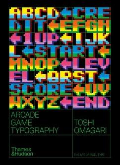 Arcade Game Typography - Omagari, Toshi