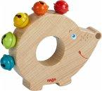 HABA 304821 - Klangtier Igel, Greifling, Holz