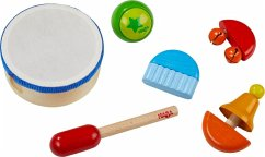 HABA 304852 - Klangspiel-Set, 5 Kinder-Musikinstrumente