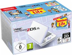 New Nintendo 2DS XL weiß lavendel inkl. Tomodachi Life