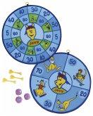 HUDORA 77010 - Kinderklettball-Dartboard joey, Kinder-Dart