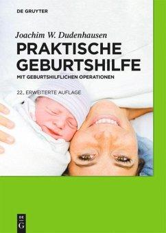 Praktische Geburtshilfe - Dudenhausen, Joachim W.