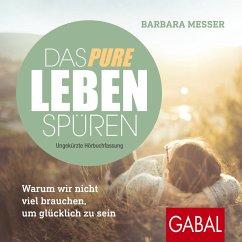 Das pure Leben spüren (MP3-Download) - Messer, Barbara