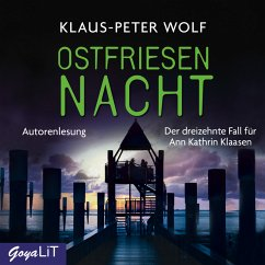 Ostfriesennacht / Ann Kathrin Klaasen ermittelt Bd.13 (MP3-Download) - Wolf, Klaus-Peter
