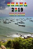 Ghana 2019 Year of Return: Senya Beraku Beach Ghanaian Map Flag Art Softcover Note Book Diary - Lined Writing Journal Notebook - Pocket Sized - 2