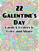 22 Galentine's Day Cards & Posters to Color and Share