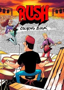 RUSH Coloring Book - Calcano, David