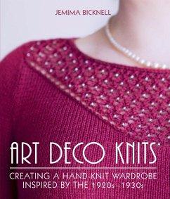 Art Deco Knits (eBook, ePUB) - Bicknell, Jemima