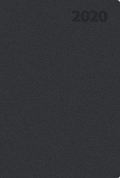 Taschenkalender Tizio Flexicover schwarz L 2020