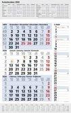 3-Monats-Planer Combi Blau 2020