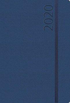 Agenda Struktur dunkelblau L 2020