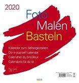Foto-Malen-Basteln Bastelkalender weiß groß 2020