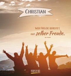 Namenskalender Christian