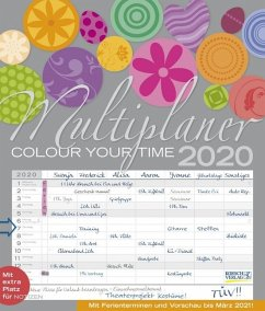 Multiplaner - Colour your time 2020