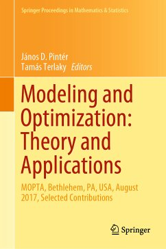 Modeling and Optimization: Theory and Applications (eBook, PDF)