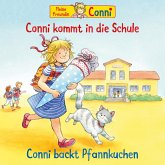 Conni kommt in die Schule (neu) / Conni backt Pfannkuchen (MP3-Download)