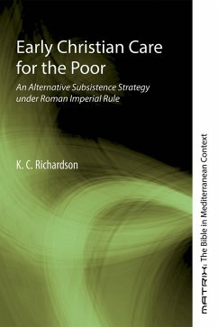 Early Christian Care for the Poor (eBook, ePUB)