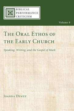 The Oral Ethos of the Early Church (eBook, ePUB)