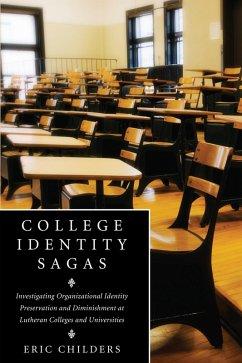 College Identity Sagas (eBook, ePUB)