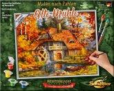 Schipper 609240799 - Malen nach Zahlen, Alte Mühle, 24 x 30 cm