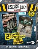 Noris 606101838 - Escape Room das Spiel-Duo, inkl. 2 Fällen , Logik, Denkspiel, Familienspiel