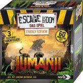 Noris 606101837 - Escape Roon Jumanji, Family Edition,Logik, Denkspiel, Familienspiel