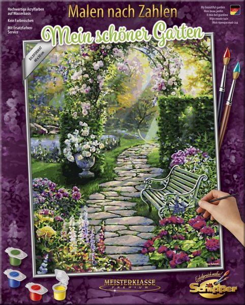 Schipper 609130804 Malen Nach Zahlen Mein Schoner Garten 40 X 50 Cm Bei Bucher De Immer Portofrei