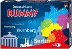 Noris 606101698 - Deutschland Rummy, Geschicklichkeitsspiel, Familienspiel