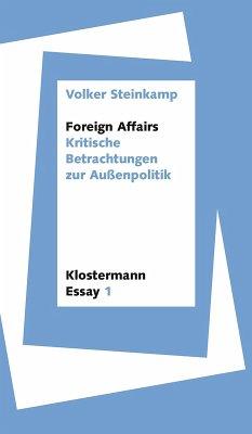 Foreign Affairs (eBook, ePUB) - Steinkamp, Volker