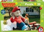 Benjamin Blümchen, Puzzle zum Kinofilm, Motiv 1 (Kinderpuzzle)