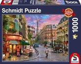 Straße zum Eiffelturm (Puzzle)