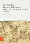 Die Weistümer des Amtes Monschau und der Herrschaft Hetzingen (eBook, PDF)