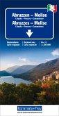 Kümmerly+Frey Karte Abruzzen-Molise / Abruzzes-Molise / Abruzzo-Molise Regionalkarte