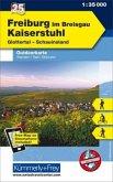 Kümmerly+Frey Outdoorkarte Freiburg im Breisgau - Kaiserstuhl, Glottertal, Schauinsland