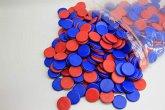 Wissner 080810.4P0 - Wendeplättchen, 400 Stück aus RE-Plastik im Polybeutel