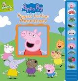 Peppa Pig - Peppas lustige Abenteuer - Vorlese-Pappbilderbuch mit 10 fröhlichen Geräuschen