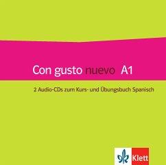Kurs- und Übungsbuch, 2 Audio-CDs / Con gusto nuevo .A1