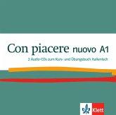 2 Audio-CDs zum Kurs- und Übungsbuch Italienisch / Con piacere nuovo .A1