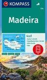 KOMPASS Wanderkarte Madeira